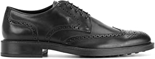 Luxury Fashion | Tod's Men XXM45A00C10D90B999 Black Leather Lace-up Shoes | Spring-summer 20