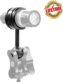 WEIHE 25mm Clamp for Diving Flashlight with 1