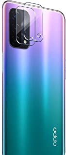 FTRONGRT camera lens protective film for Oppo A95 5G,transparent,ultra-thin,scratch-resistant,soft tempered glass lens pro...