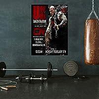 筋肉男性ボディービルポスター動機付けの壁アートホームジムの装飾フィットネストレーニングポスタースポーツルームホームジムの装飾キャンバスプリント40x60cmフレームなしY17