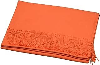 Wiwsi Women Winter Warm Synthetic Cashmere Pashmina Shawl Neck Wrap Scarf Stole