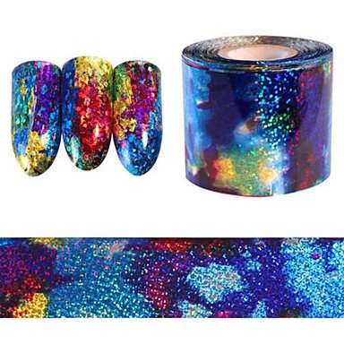 MZP 1pcs Autocollant d'art de clou Autocollant dentelle Maquillage cosmétique Nail Art Design
