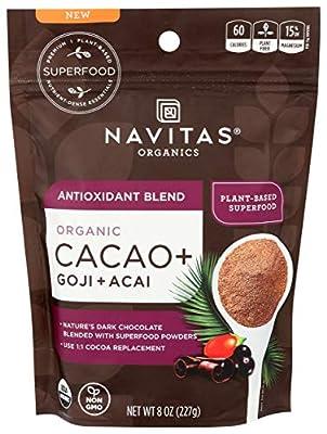 Navitas Organics Organic Cacao Antioxident Blend, 8 OZ