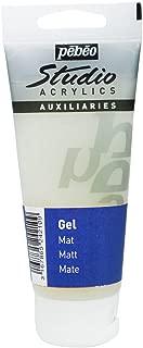 PEBEO Studio Acrylics Auxiliaries, Matt Gel, 100 ml