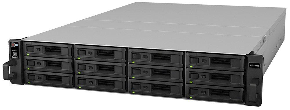 Synology RX1216SAS - Servidor NAS (96 TB, HDD, USB), Negro: Synology: Amazon.es: Informática