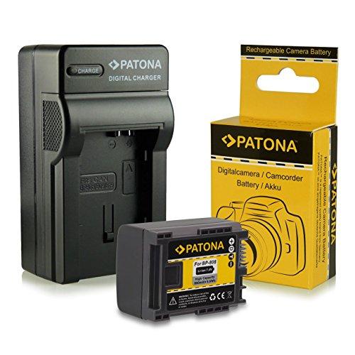 Cargador + Batería BP-807 / BP-808 / BP-809 para Canon LEGRIA HF G10 | HF G25 | HF M31 |...