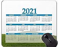 2021年カレンダーマウスパッド、ヒルズグラスツリーマウスパッド