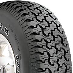 Goodyear WRANGLER RADIAL OWL P235/75R15 All weather traction Enhanced handling Heavy duty construction