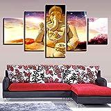 CXZZV Canvas Wohnzimmer dekorative Gemälde 150x80CM 5