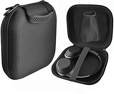 NiceCool Hard Case for COWIN E7 / Sony WH-CH700N – Fits Sennheiser PXC 550, JBL EVEREST 750, 710, 310,Sony MDR-1AM2 Wireless Headset, Dongle, Cables Carry Bag Protective Storage Box (Black) from NiceCool