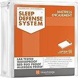 HOSPITOLOGY PRODUCTS Sleep Defense System - Zippered Mattress Encasement - California King...
