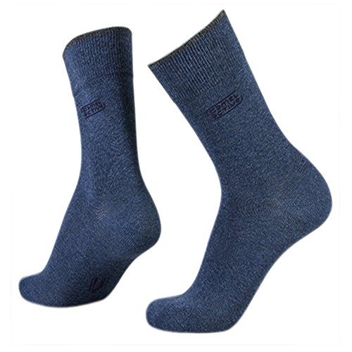 camel activ Herren Socken 3er-Pack Uni Basic 6593 / Men Socks 3pack (43-46, 430 denim melange)