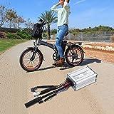 FOLOSAFENAR El Controlador de Bicicleta eléctrica Mejora la eficiencia operativa 6 Tubos 17A Reduce el Aumento de Temperatura del Controlador, para Motocicletas eléctricas