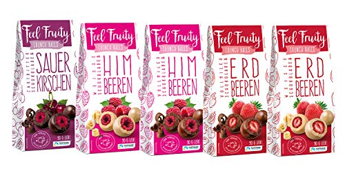 Feel Fruity schokolierte Früchte 5er Set