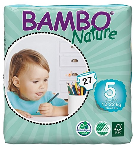 BAMBO Nature Junior Babywindel, Gr. 5 (12-22 kg),27St