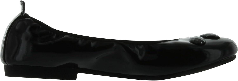 Enzo Girls Zaffiro Jewel Ballerina Flats Shoes