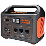 Jackery Portable Power Station Explorer 1000, 1002Wh Solar Generator (Solar Panel Optional) with 3x110V/1000W AC Outlets, Solar...