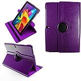 COOVY® 2.0 Cover für Samsung Galaxy Note PRO 12.2 SM-P900 SM-P901 SM-P905 Rotation 360° Smart Hülle Tasche Etui Hülle Schutz Ständer | lila