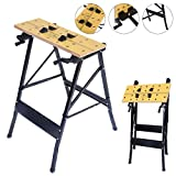 Portable Multipurpose Workbench Table Folding - Toolsempire Adjustable...