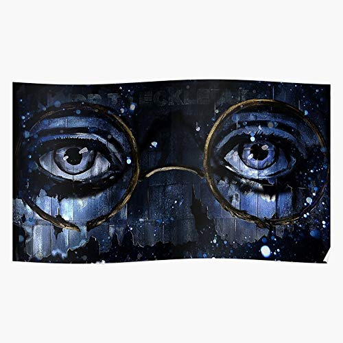kineticards Michael Great Eckleburg Gatsby Fitzgerald Scott Doctor Tj Eyes | Home Decor Wall Art Print Poster