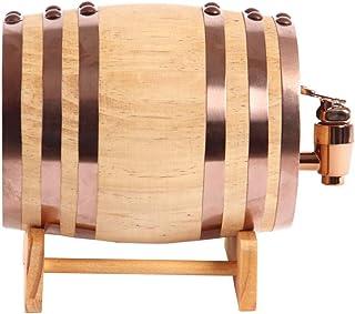 Yuan vinification futs Barrique à vin en chêne Barrique à vin Barrique à vin Barrique à bière Baril Décoration pour la Mai...