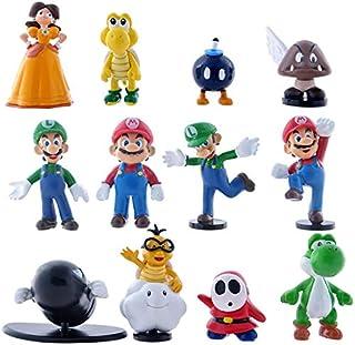 The model of Super Mario Twelve Figure as a set