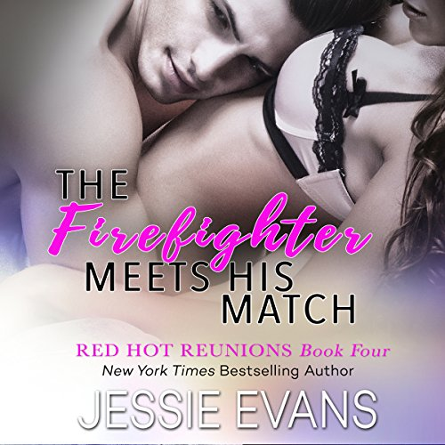 The Firefighter Meets His Match audiobook cover art