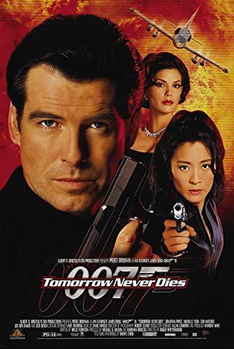 Tomorrow Never Dies Video Movie Poster 1 Sided Original 27x40 James Bond