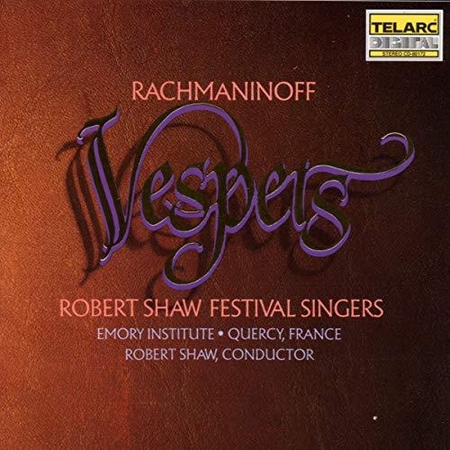 Sergei Rachmaninoff: Vespers