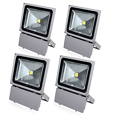 Sanzo® 100 Watt LED Flood Light Outdoor Security Lighting 6000K Daylight Waterproof Floodlight