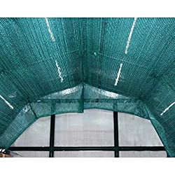 Protects plants by controlling and reducing 70% of sunlight exposure Shade cloth is attached to the frame of the greenhouse using plant hangers Dimensions: 230 x 265cm; larger greenhouses require multiple shade kits (sold separately) Made from a dura...