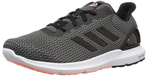 adidas Women's Cosmic 2 Sl w Running Shoe, Easy Coral/Black/Sun Glow, 10 Medium US