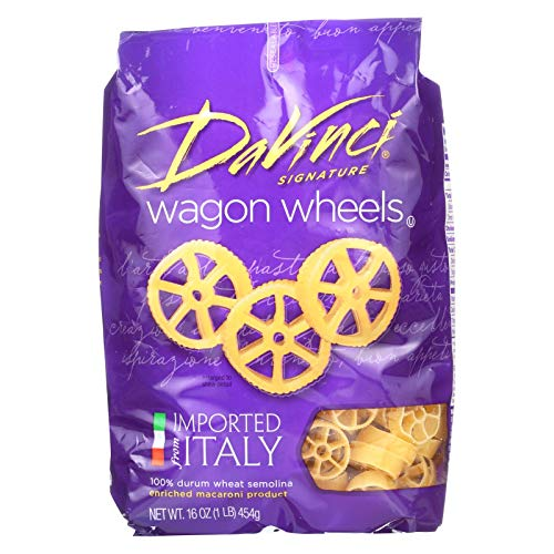 Davinci Pasta Wagon Wheels, 16 oz