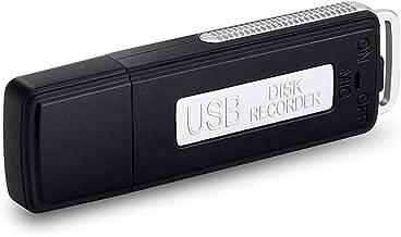 MP power @ USB Mini Grabador de sonido digital Grabadora de Voz Digital portátil 8GB