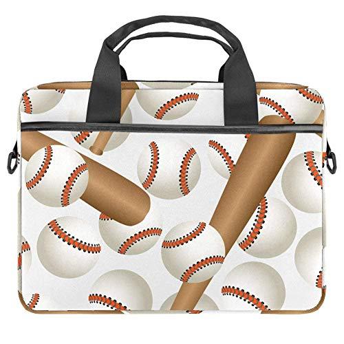 Bate de béisbol y pelotas de deporte con patrón de lona para...