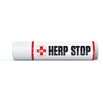 HERP Stop Defense and Support for Clear Skin 100% Natural! Peppermint Oil, Shea Butter, Zinc, Tea Tree, Coconut Oil .5 oz