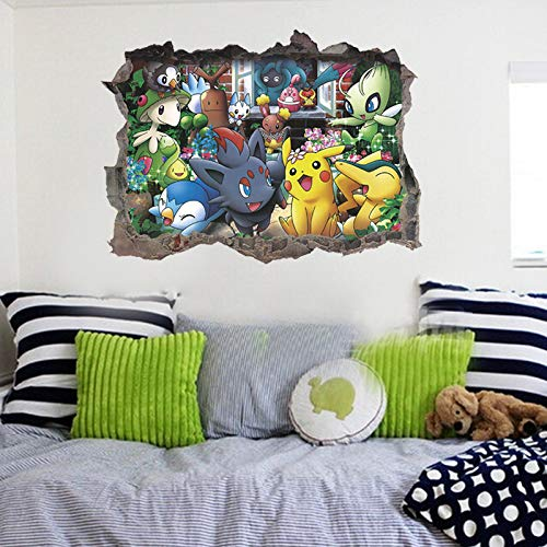 shayanyan Wandpaste Wandbild Elf Poco Dream Pokemon Pokemon Pokemon Pokemon Pokemon Gehen Kinder Dekorative Wandaufkleber