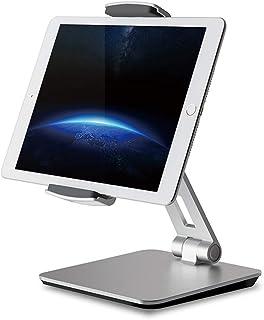 "FJ Tablet Stand Holder, Adjustable Desktop, 360° Swivel Rotating Business Stand for iPad Pro10.5 9.7"" 12.9'' iPad Air Mini..."