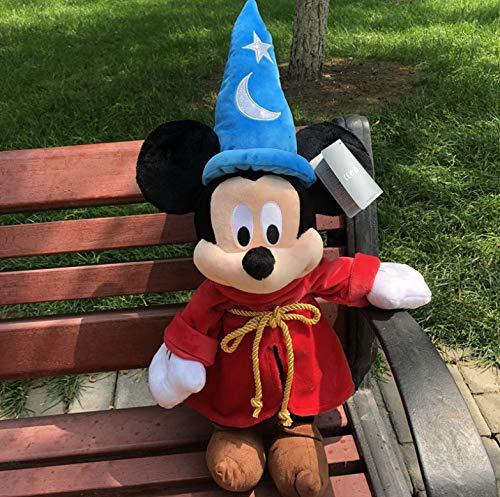 Plüschtiere Mickey Mouse Fantasia Sorcerer Plüschpuppe Niedliche Kuscheltiere Spielzeug EIN Geburtstagsgeschenk Für EIN Kind 48Cm