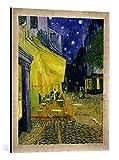 Kunst für Alle '–Fotografía enmarcada de Vincent Van Gogh Cafe Terrace, Place du Forum, Arlés, 188...