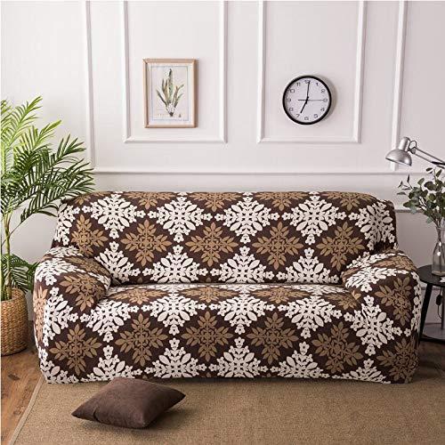 Funda de sofá con Estampado geométrico Colorido Fundas elásticas Funda de sofá antisuciedad Funda de sofá Funiture Toalla All Wrap A20 4 plazas