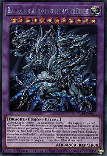 Konami TN19-DE001 Blauäugiger Alternativer Ultimativer Drache (Secret Rare)