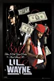 GB Eye Limited Poster Lil Wayne Dollars gerahmt, 94,5 x 64