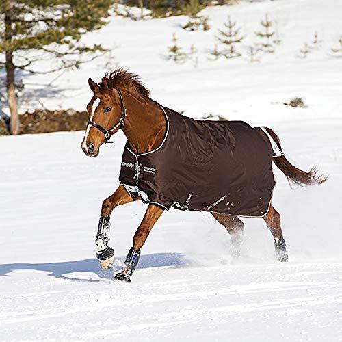 Horseware Amigo Bravo 12 - Winterdecke oder Regendecke 165cm 250g Füllung Chocolate/Cream