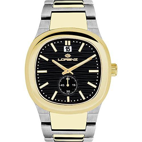 Herenhorloge alleen tijd Lorenz Wave aanbieding Casual Code 030098DD