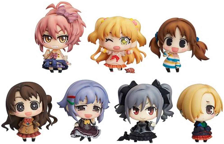 Idolmaster Cinderella Girls mini Tsu Chu Idolmaster Cinderella Girls 02 (non-scale PVC Figure Trading Figure 9 pieces BOX) (japan import)