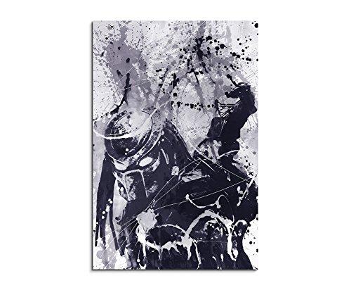 Predator Art 90x60cm - Wandbild als Kunstbild Malerei Fotoleinwand fertig auf Keilrahmen direkt vom Künstler