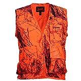 Gamehide Sneaker Big Game Vest Blaze Camo, Large