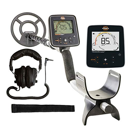 Whites Treasuremaster Metal Detector Waterproof Search Coil and Dual Volume...