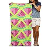 xcvgcxcvasda Serviette de Bain, Watermelon 31x51 Inches Strong Water Absorption Adult Beach Towels